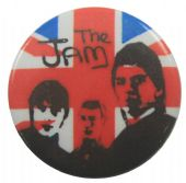 The Jam - 'Group Flag' Button Badge